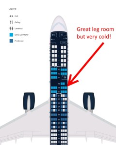 19F on a delta 757 in comfort plus from Delta-com website
