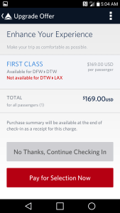 Delta FCM or selling 1st class seats cheap at checkin renespoints blog