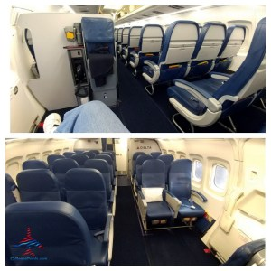 Lots of leg room Delta MAD DOG exit row way in the back RenesPoints blog
