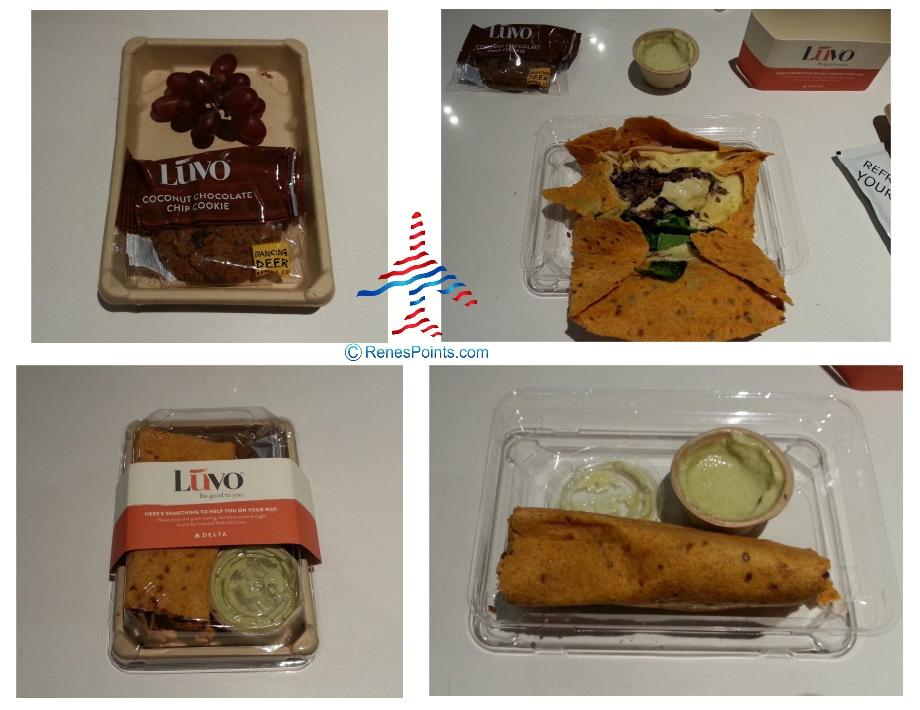 luvo-snack-delta-renespoints food in coach delta