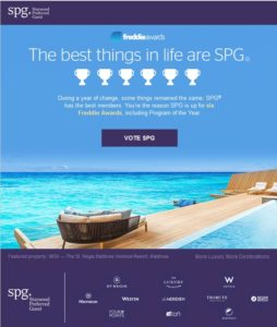 spg wants votes for freddie awards