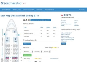 seatmaestro for delta 717