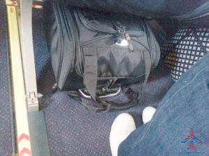 under seat bag for crj200s that fits renespoints blog review (2)