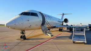 Delta CRJ200 from ground RenesPoints blog