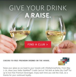 free top shelf drinks sky club amex delta card renespoints blog