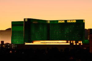 Las Vegas, USA - December 07, 2011: MGM Grand Hotel at night on the Las Vegas strip. ©iStock.com/tfoxfoto