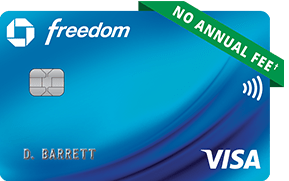 Chase Freedom No Annual Fee Credit Card