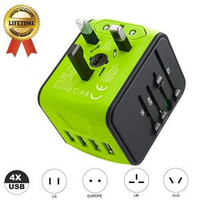 JMFONE International Travel Adapter Universal Power Adapter