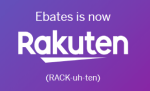 Earn cash back with Rakuten (formerly known as Ebates)