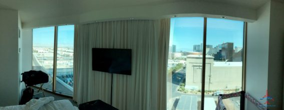 Panoramic suite at Delano Las Vegas, an Amex Fine Hotels & Resorts property and Chase Luxury Hotels & Resorts property.