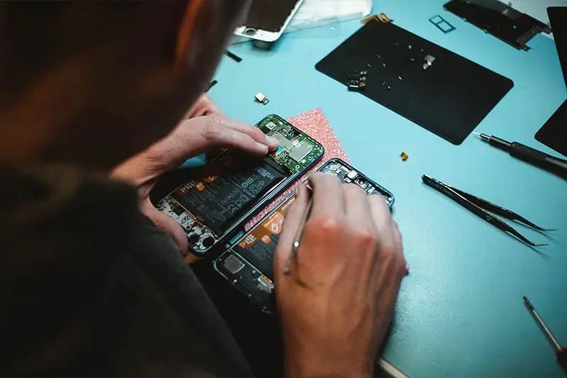 réparation tablette