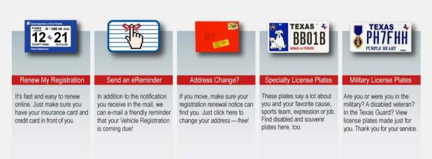 Texas Department Of Motor Vehicles Vehicle Title And Registration Services