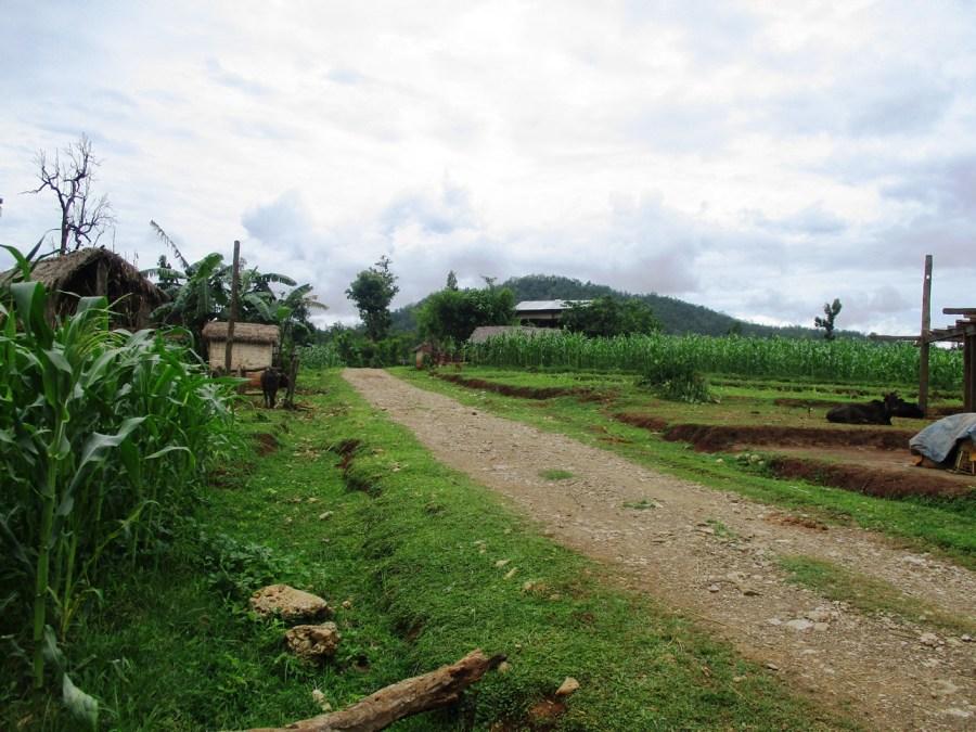 Sanneghari during the monsoon