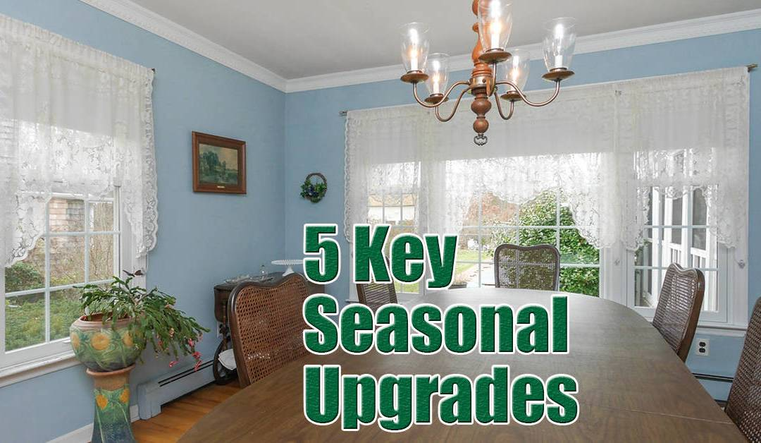 home upgrades for fall on Long Island