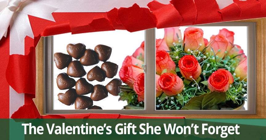 Valentines Gift Replacement Windows Long Island NY