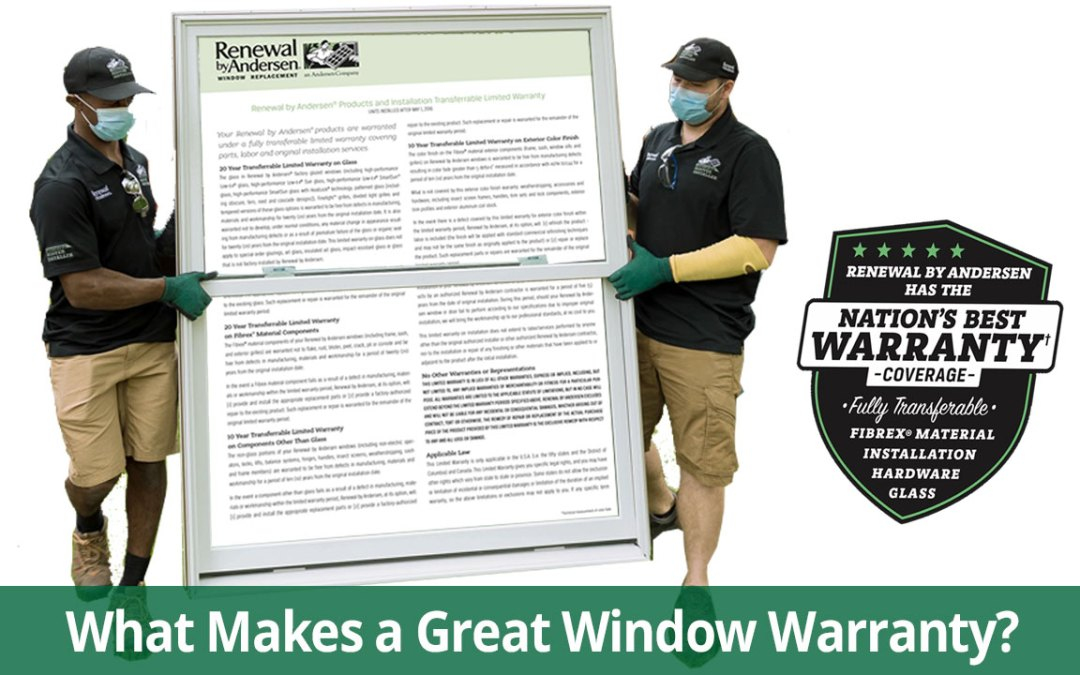 Why Your Replacement Window Warranty Matters