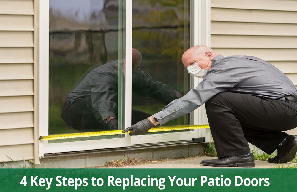 4 steps to replace doors