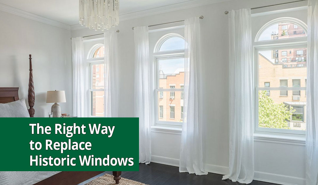 replacing windows in historic home