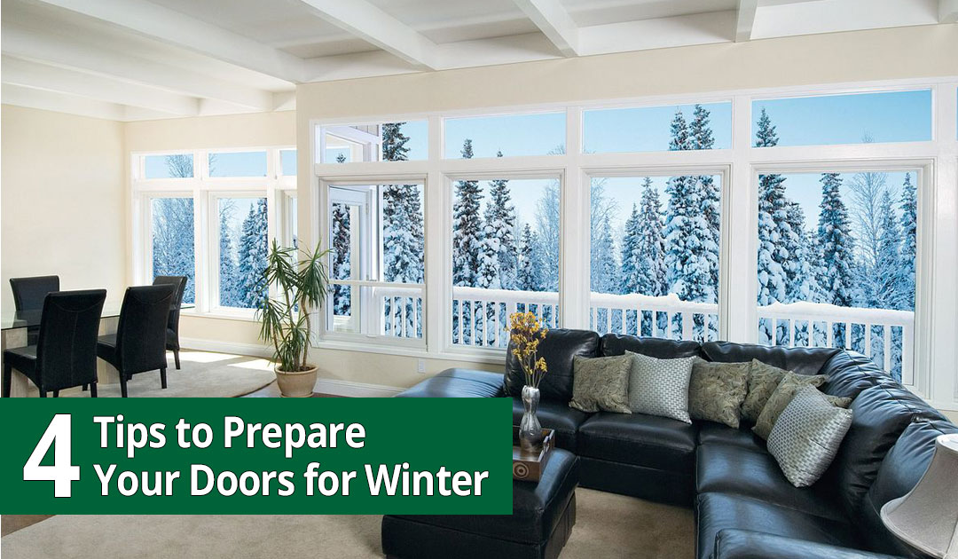 4 Tips to Prepare Your Doors for Winter