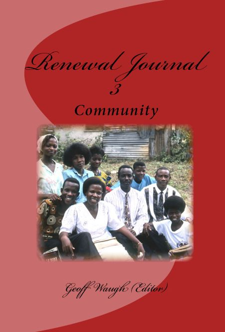 Renewal Journal 3: Community