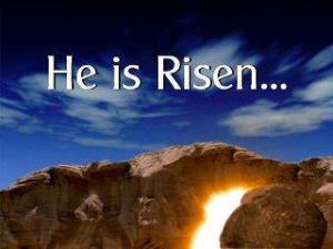 Easter Sunday Risen