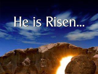 Easter Sunday Risen