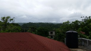 Rooftop View Mountains