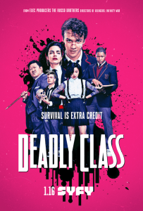 Syfy Releases New Trailer For Deadly Class