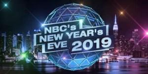 nbc new years eve 2019 lineup