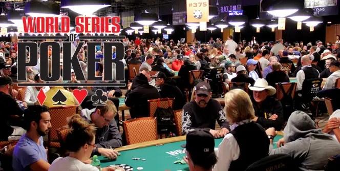 World Series Of Poker Schedule