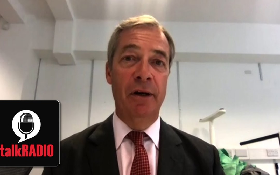 Nigel Farage: Trust in Boris Johnson