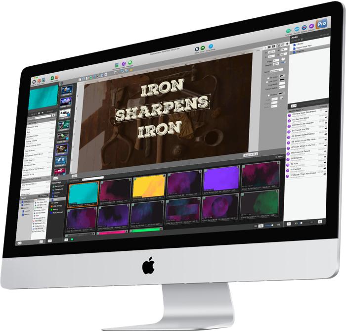 ProPresenter 6 for Mac 6.3.2 破解版 - 优秀的现场双屏演示工具