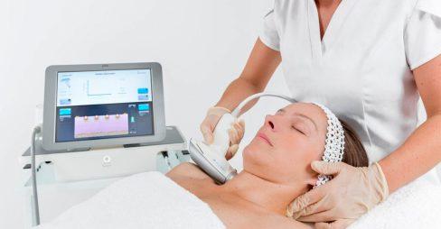 Laser Facial or Microoneedling