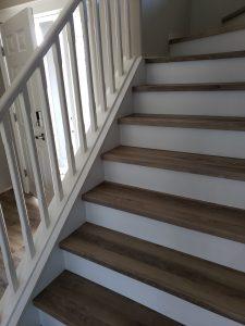 Laminate stairs