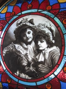 Portrait Stained Glass Window