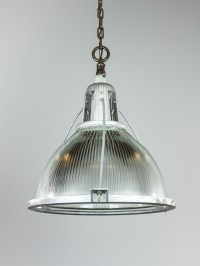 Oversized Industrial Holophane Pendant | Renew Gallery