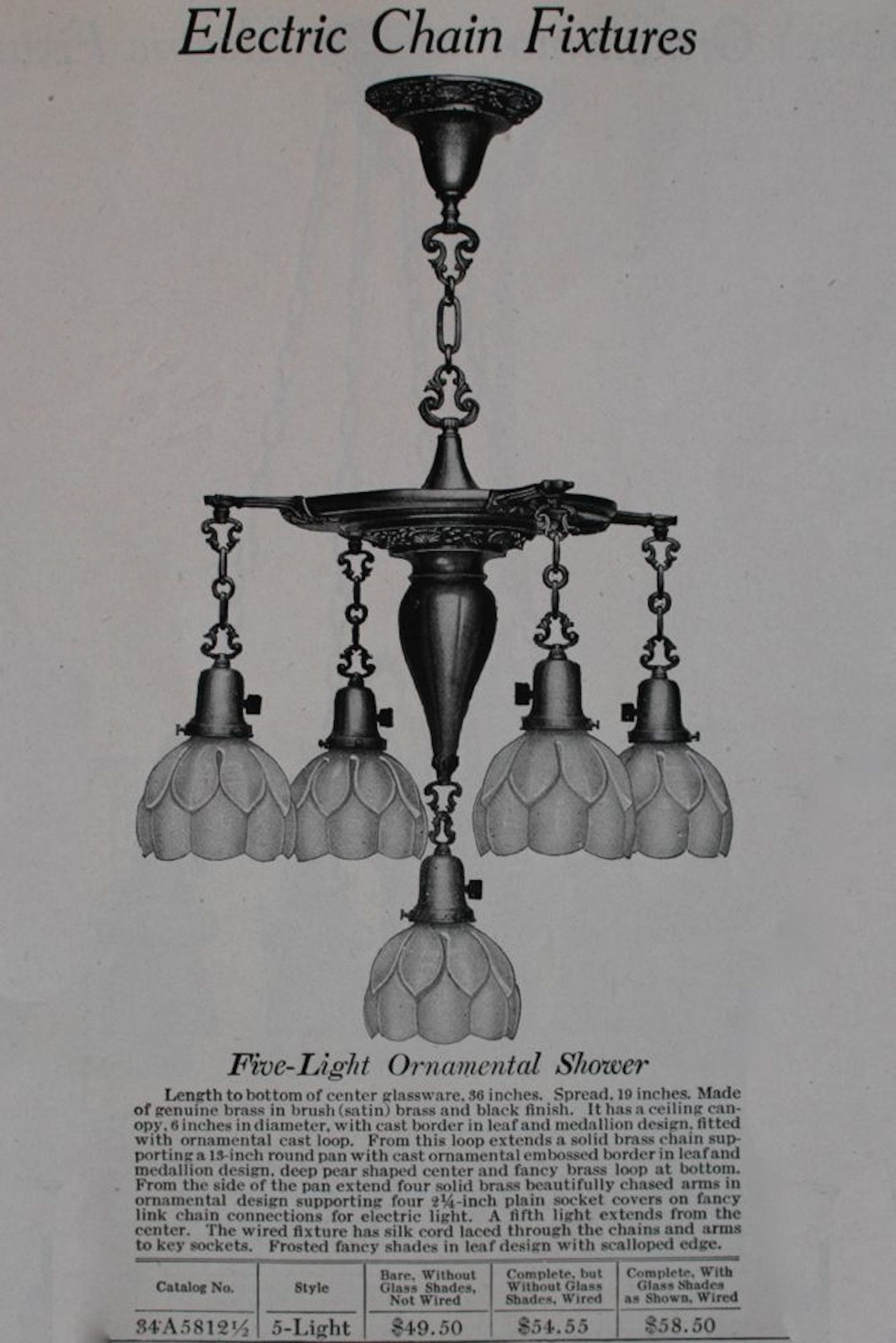 Vintage Lighting Fixtures Chicago