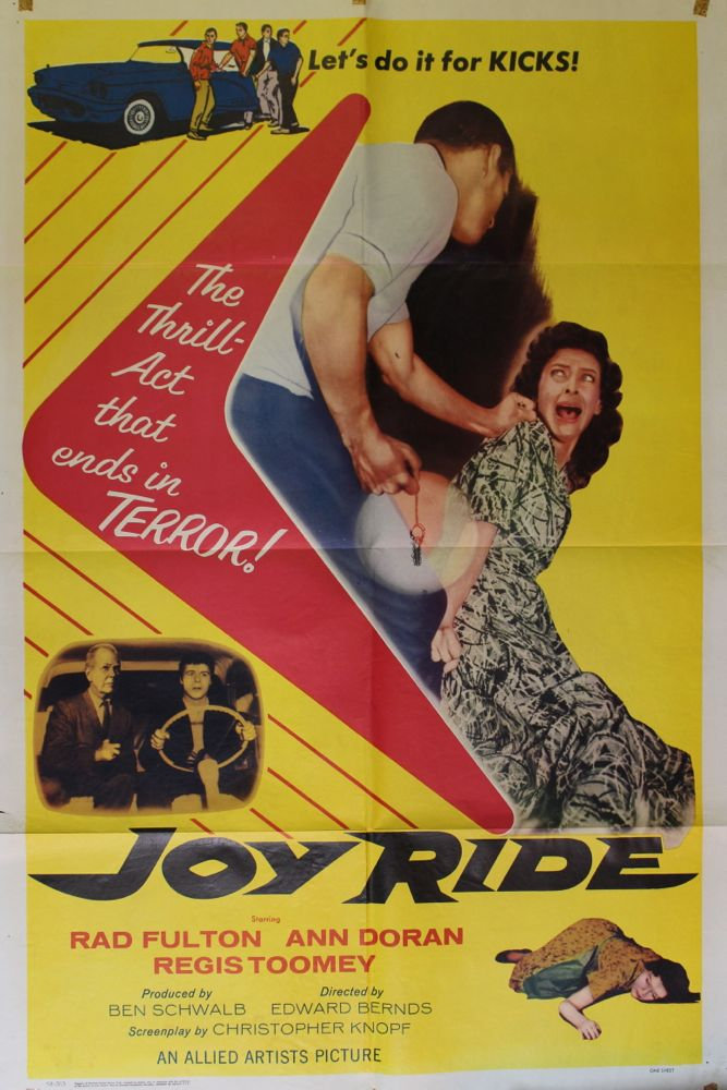 Joy Ride Movie Poster  Set of Lobby Cards