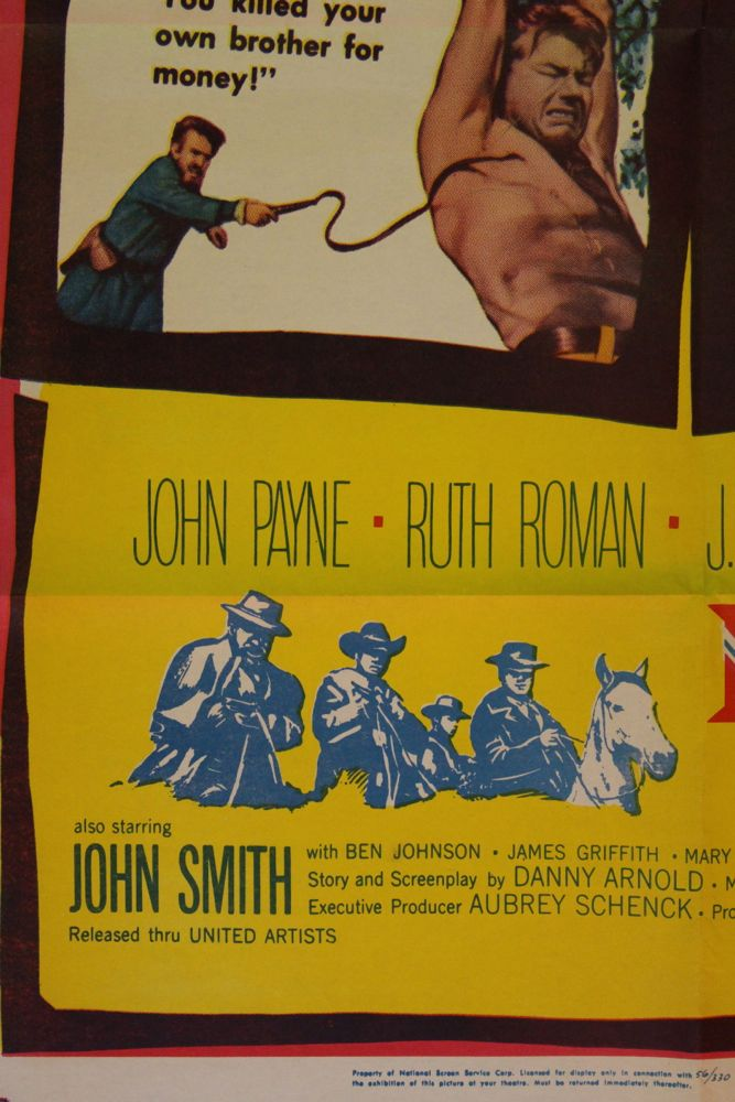 Rebel in Town Movie Poster  Set of Lobby Cards