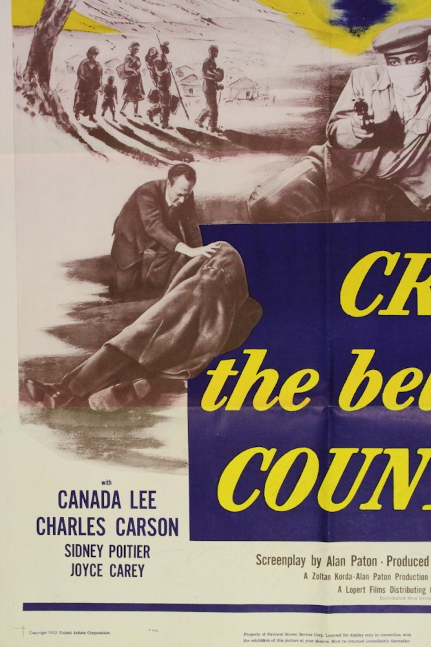 Cry The Beloved Country Movie Poster