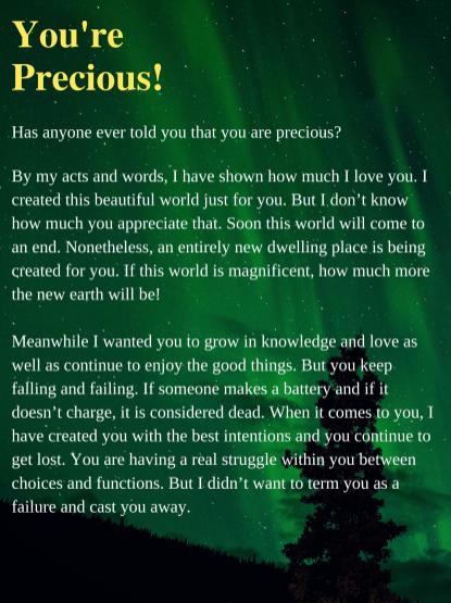 You are Precious_1