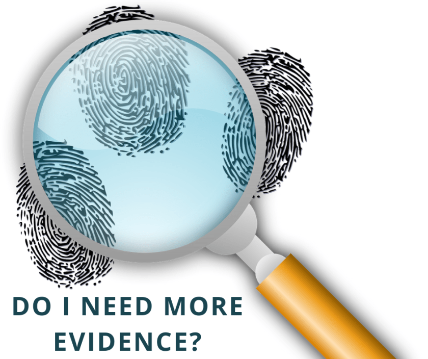 Do I need more evidence for God_