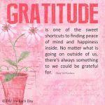 gratitude, peace, mind, happiness