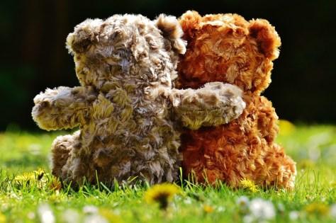 Teddy Bears, Hugs, Friendship, Gift, Renew Inspiration