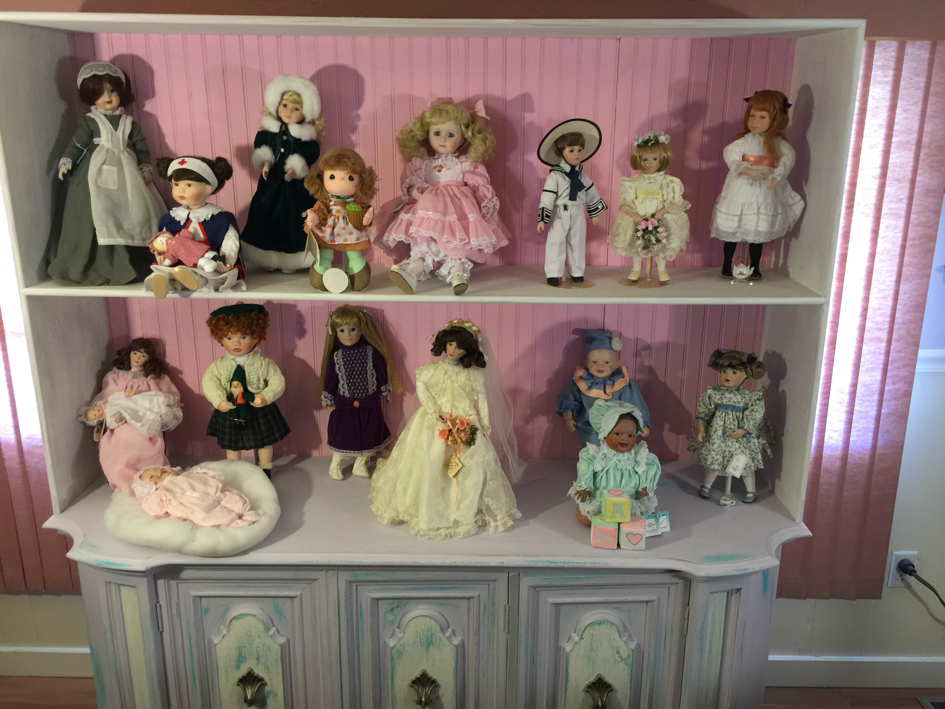 My Doll Cabinet Shabby Chic Project