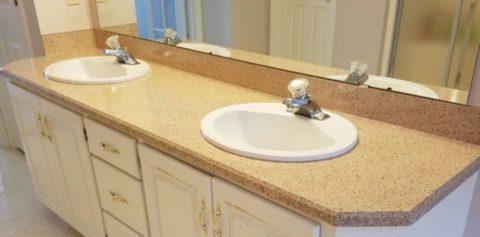 bathroom vanity resurfacing lincoln ne