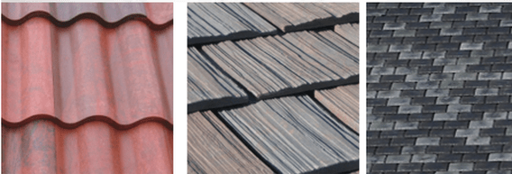 Eco-friendly roof tiles