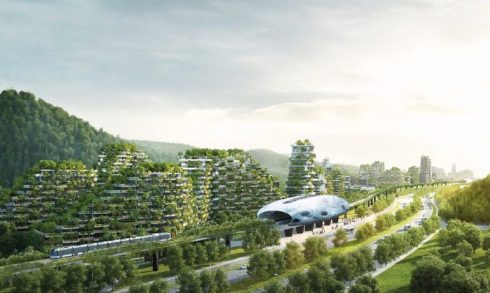 Chinas Forest City of 1+ Million Plants/Trees Will Remove 10k Tons of Carbon/Year