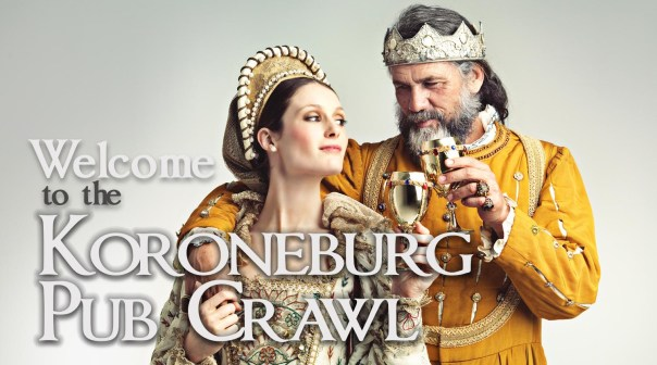 Welcome to the Koroneburg Pub Crawl Image