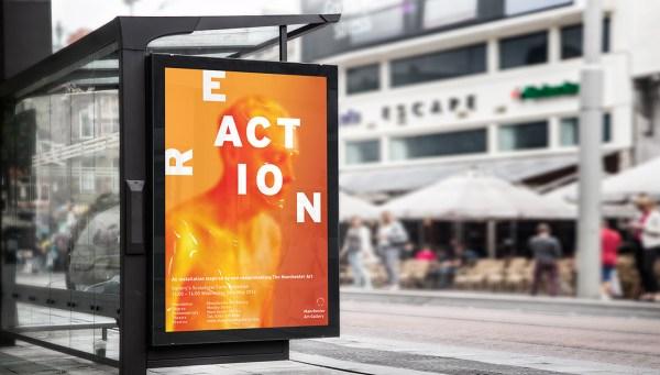 Manchester Art Exhibition Poster - Renfrew Creative